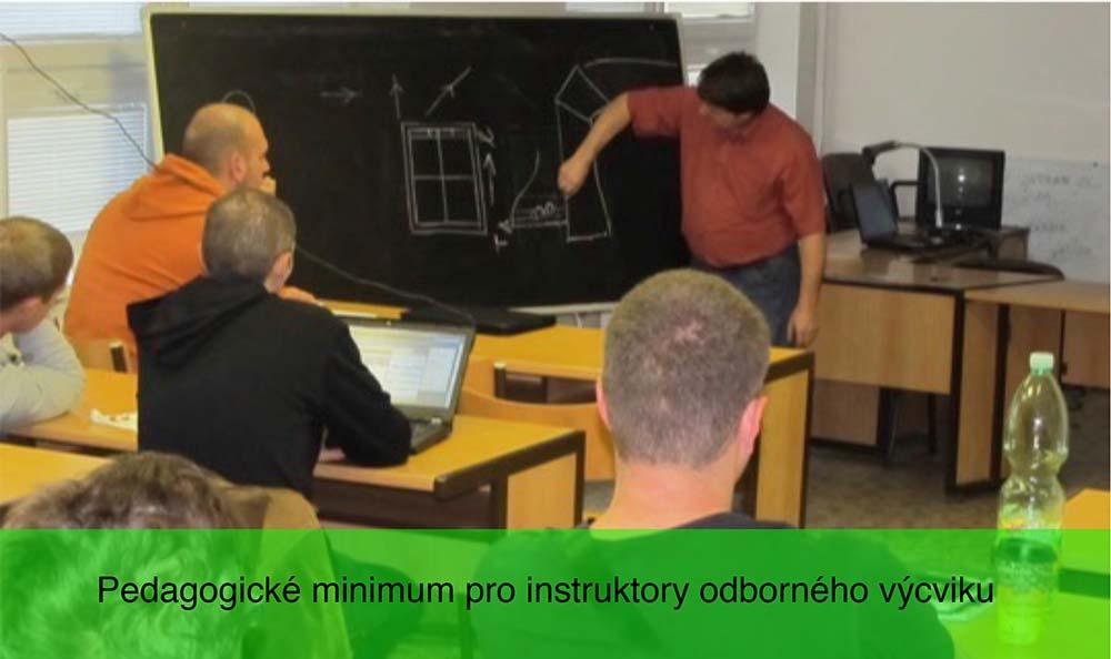 Pedagogické minimum pro instruktory odborného výcviku